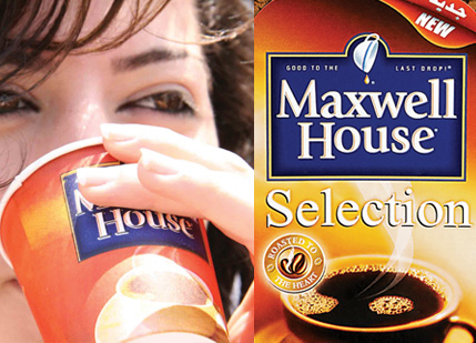 maxwell house selection coffee