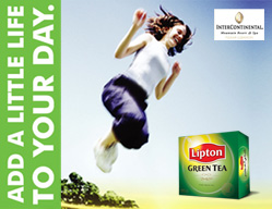 Lipton Green Tea<br><span>Activations & Events / Sport ...