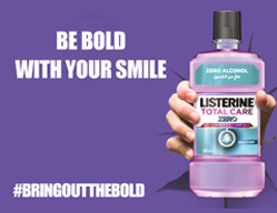 Listerine Total Care Zero<br><span>Activations & Events / Creative ...